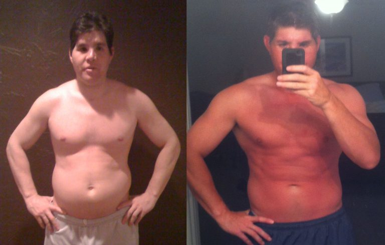 Tad Burgess was happy with his results, shows definitive body composition change and muscle growth