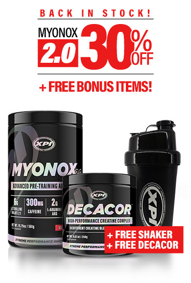 Myonox 30% off ad